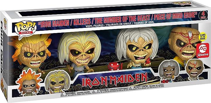 Funko POP Iron Maiden New in Box Vinyl Figure KILLERS #144 Eddie Rocks