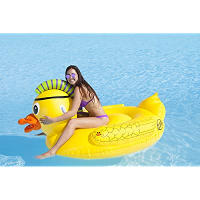 SPORTSSTUFF PUNK PIRATE DUCK Pool and Lake Float: Sports & Outdoors