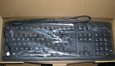 HP Smartcard CCID Keyboard E6D77AA ABE - Teclado