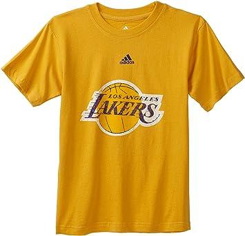 Outerstuff NBA Los Angeles Lakers Camiseta de manga corta Vintage Logo – r8u3sesla juventud, Infantil