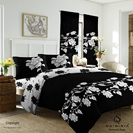 2 Pillow Case 4 Pcs Duvet Covers With Fitted sheet Bedding Set