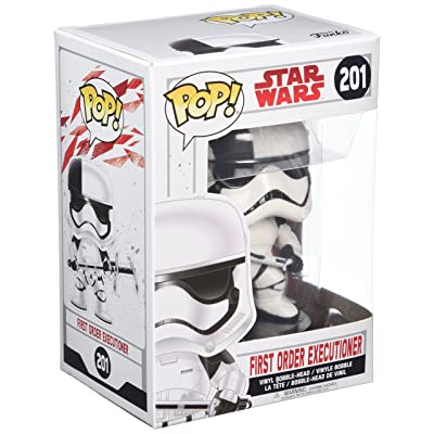 Funko POP! Star Wars: The Last Jedi - First Order Executioner Stormtrooper - Collectible Figure: Funko Pop! Star Wars:: Toys & Games