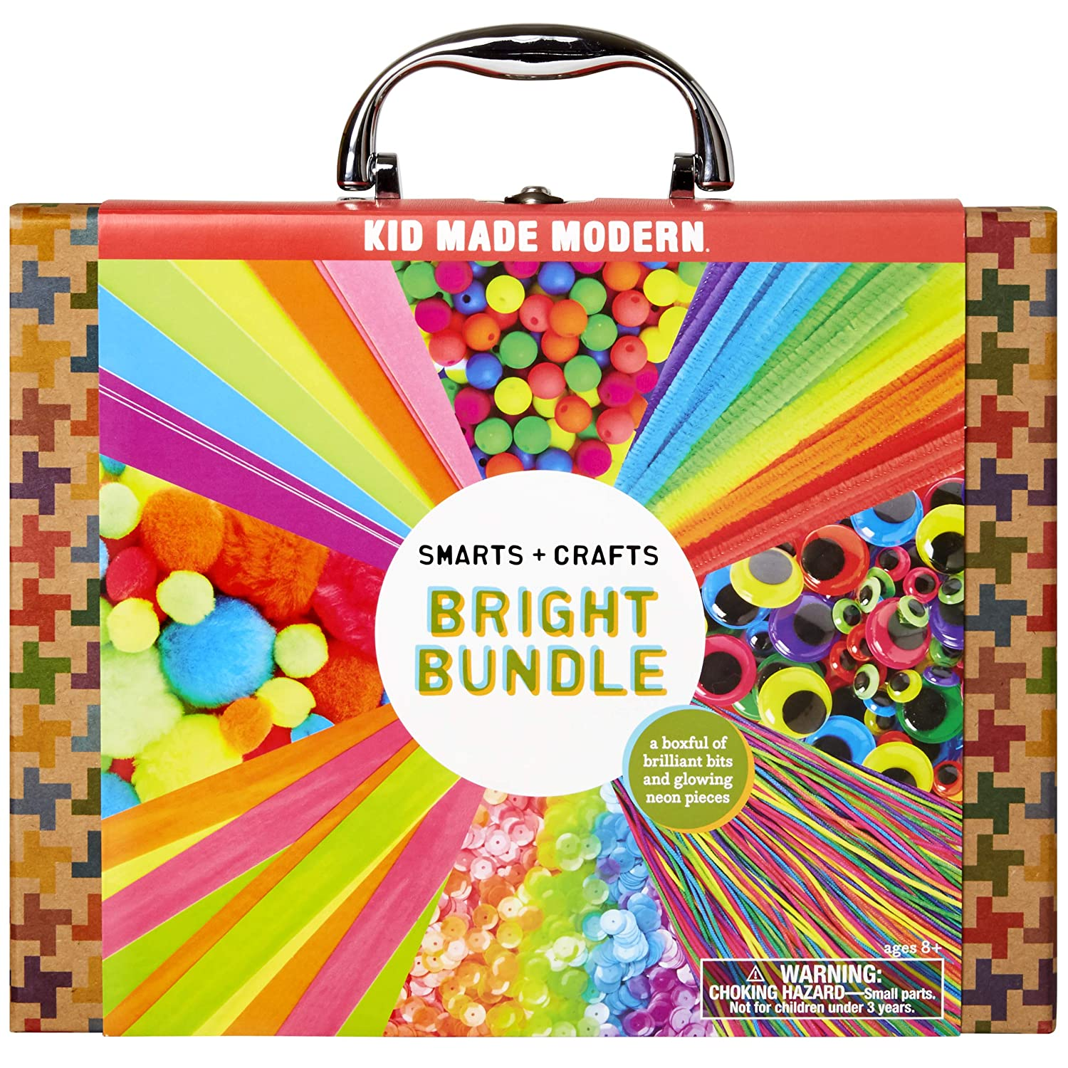 Kid Made Modern Smarts and Crafts Metal Mash-Up Craft Kit - Kids Arts & Crafts Supplies