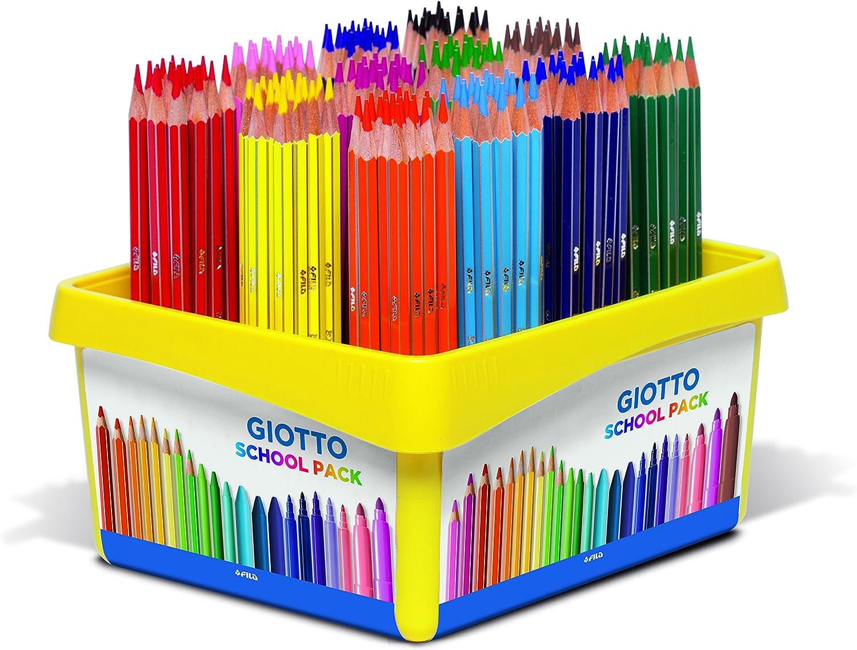 PASTELLI colorati GIOTTO STILNOVO da 12 pezzi colori vivaci facili da temperare
