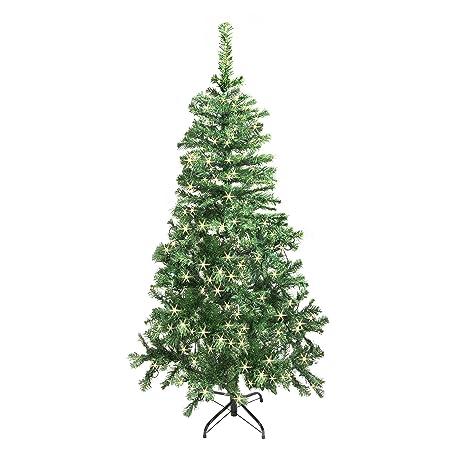 Amazon.com: ALEKO CTLG84H250WH Luscious 7.5 Feet Christmas Tree ...