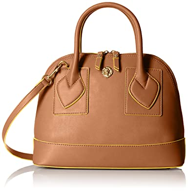 Anne Klein Billie Small Satchel, Antelope: Handbags: Amazon.com