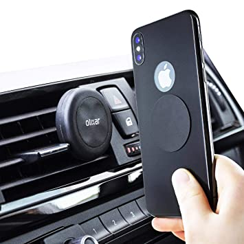 Magnetic Cell Phone Mount >> Olixar Magnetic Car Phone Mount Phone Holder For Car