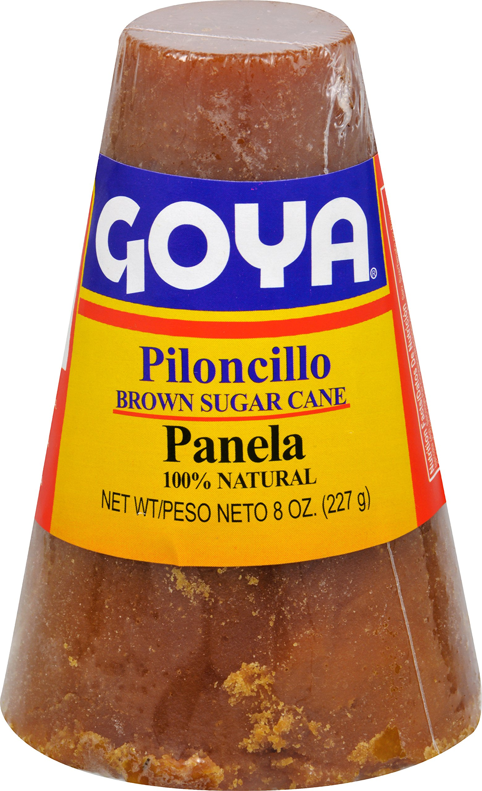 Goya Foods Panela Brown Sugar Cane, 8 Ounce (Pack of 25)