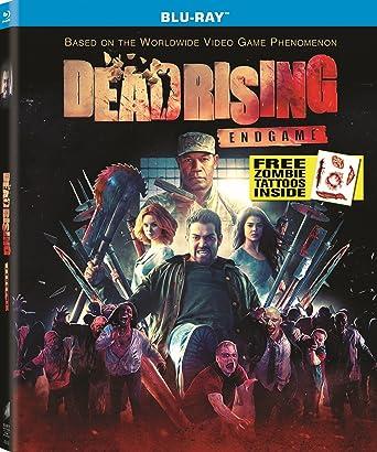 Amazon Com Dead Rising Endgame Blu Ray Jessica Harmon Marie
