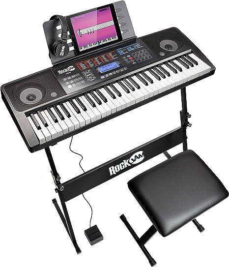 RockJam RJXX363 Keyboardständer Stativ Halterung Piano Musik Instrument Zubehör
