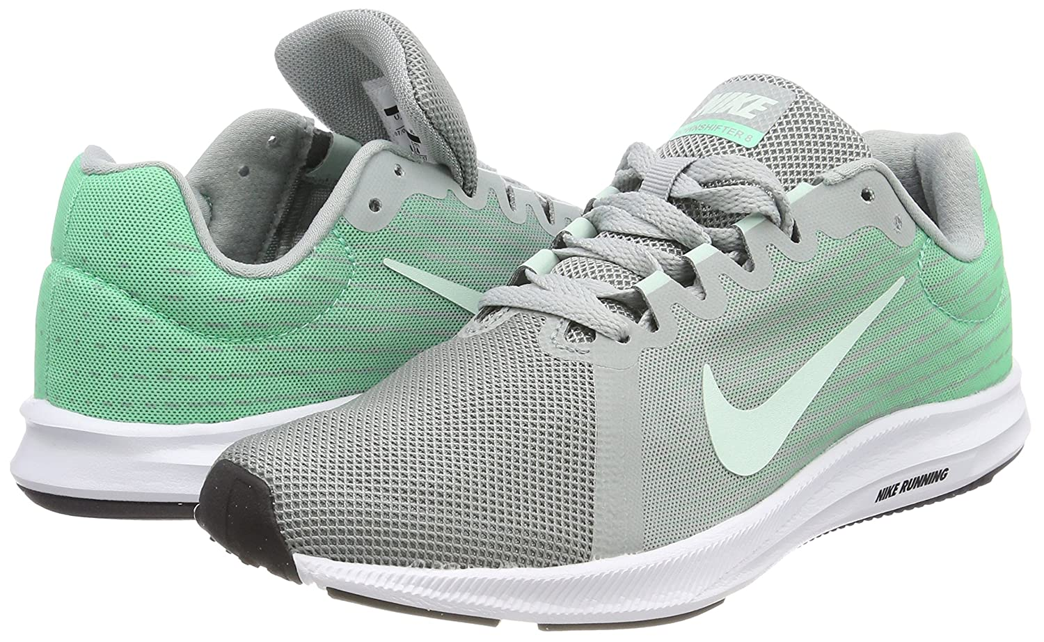 NIKE Women's Downshifter 8 Running US|Light Shoe B0761YX77N 7.5 B(M) US|Light Running Pumice/Igloo/Green Glow/White f4e584