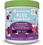Amazing Grass Kidz Superfood Berry Blast 30 Servings, 6.35 Oz