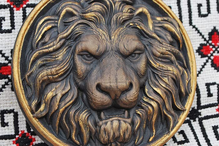 Amazon carvedlion head carving wood furniture appliques