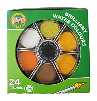 Koh I Noor Watercolor Wheel Stack Pack Set Of 24 Anilinky