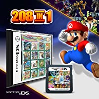 [NEW] 208 in 1 Game Cartridge Multicart, Game Pack Card Super Combo For Nintendo DS/NDS/NDSL/NDSi/3DS/2DS XL/LL