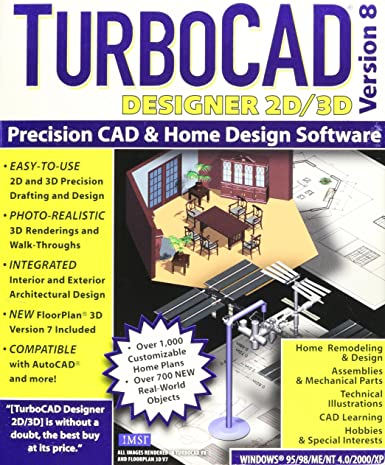 Incroyable TurboCAD Designer 2D/3D Version 8