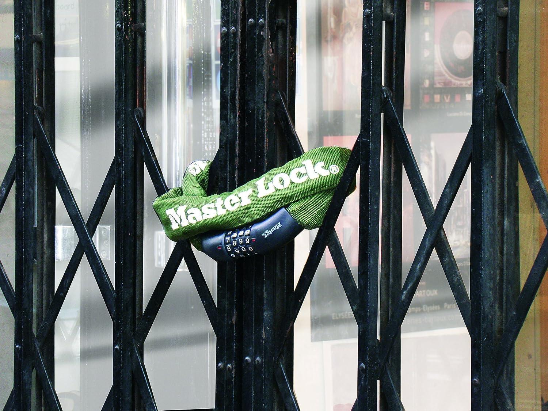 Master Lock 8027EURD Cadena Antirrobo 1 m Verde