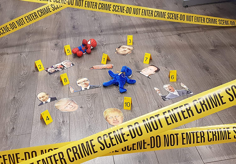 Crime Scene Do Not Enter Tape 6m Pack