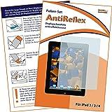 """mumbi Displayschutzfolie iPad 4 / iPad 3 / iPad 2 """"AntiReflex"""" - Displayschutz iPad 2 iPad 3 iPad 4 (WI-FI + 3G + 4G) Schutzfolie antireflektierend!"""