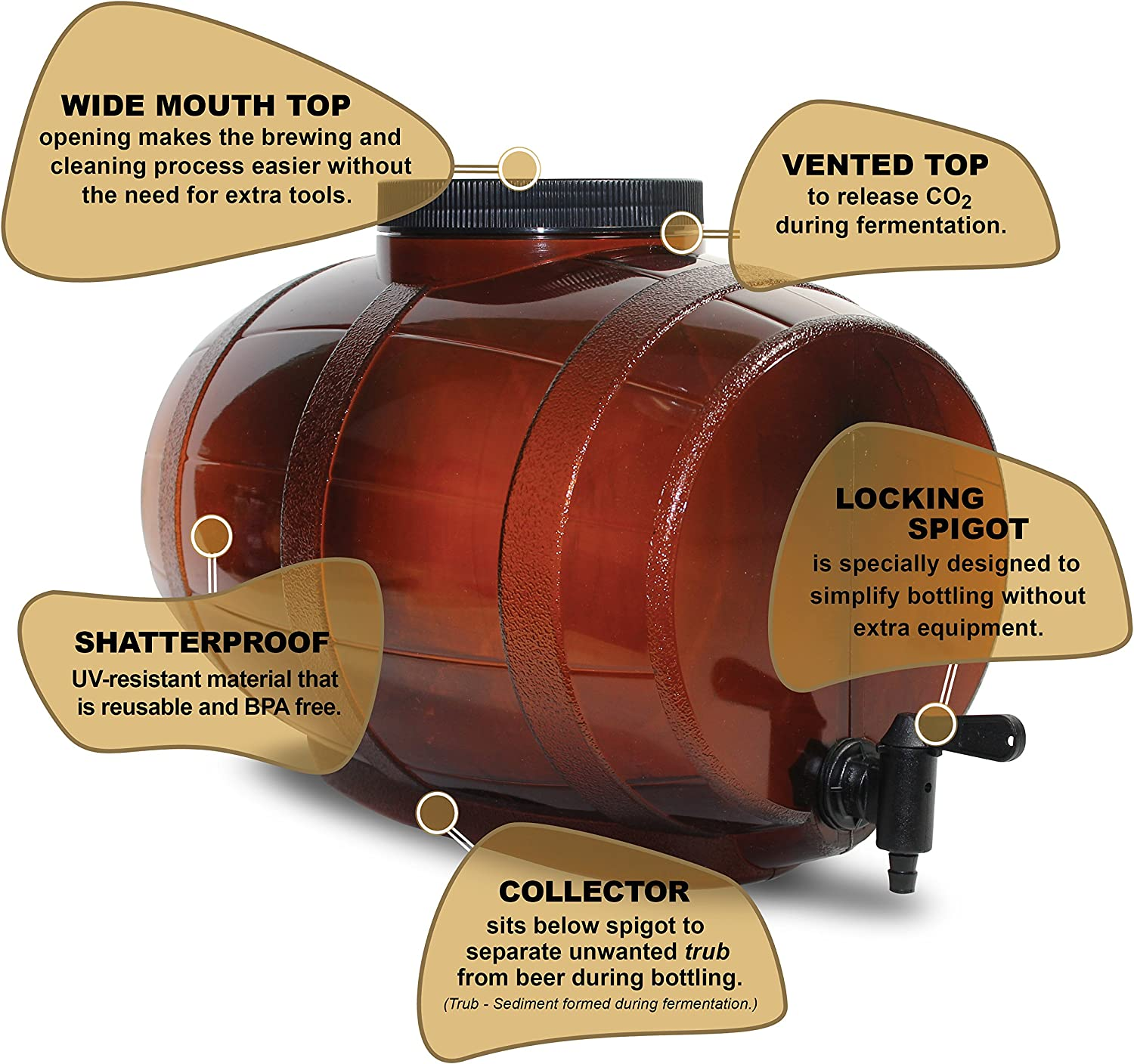 Mr Beer Bewitched Amber Ale Craft Beer Making Kit Amazon Ca Home Kitchen