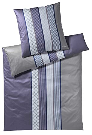 Joop Bettwäsche Cornflower Stripes Deep Violett 1 Bettbezug 135x200