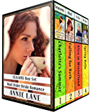 Seasons Mail Order Bride Box Set: Sweet Clean Western Cowboy Romance (Box Set Books 1-4)