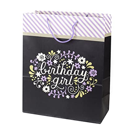 Amazon Hallmark Extra Large Birthday Gift Bag Girl Kitchen Dining