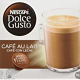 NESCAFÉ Dolce Gusto Milk Cafe, Pack of 3 (Total 48 Capsules, 48 Servings)
