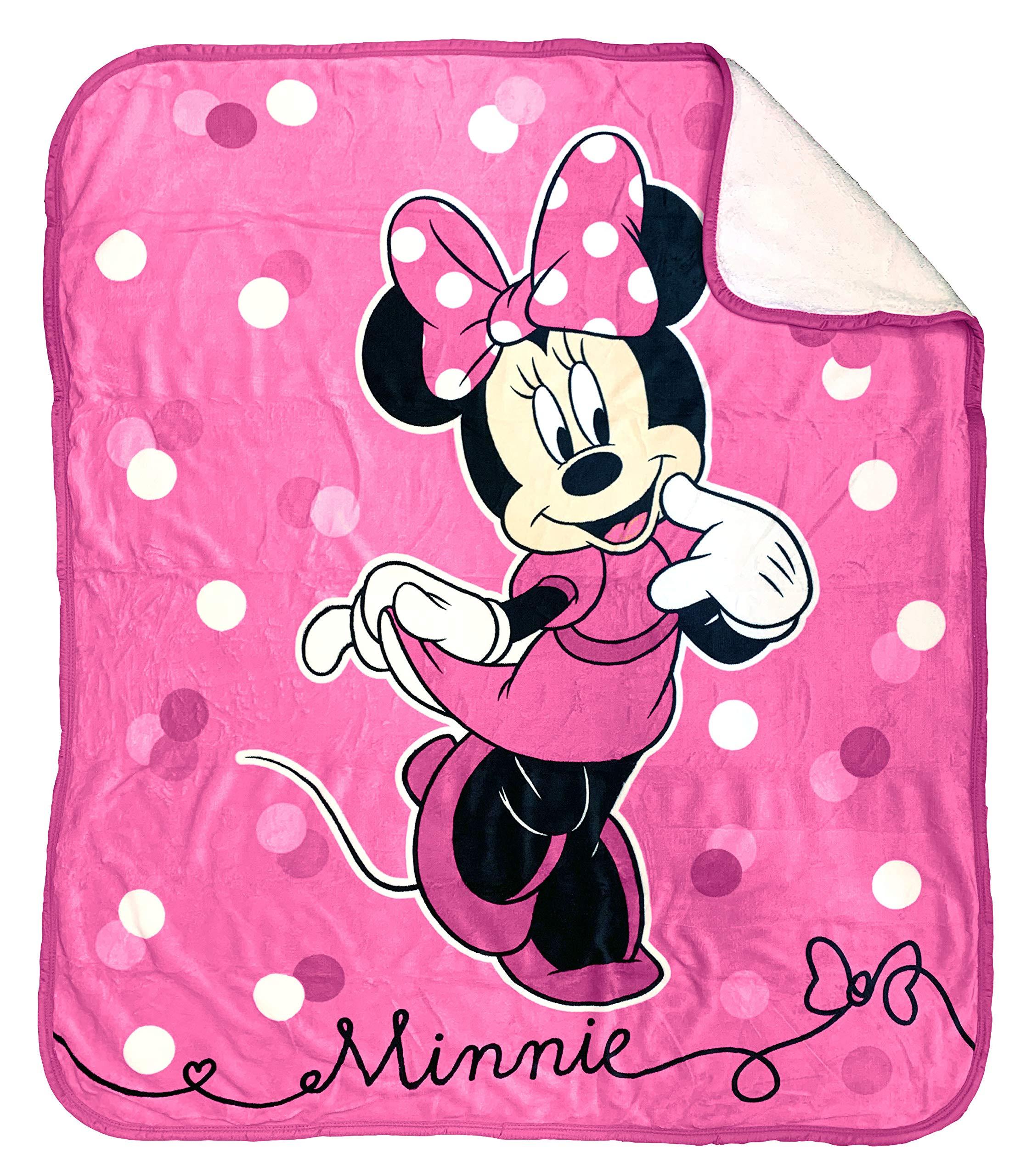 Jay Franco Disney Minnie Mouse Sweet Dots Baby