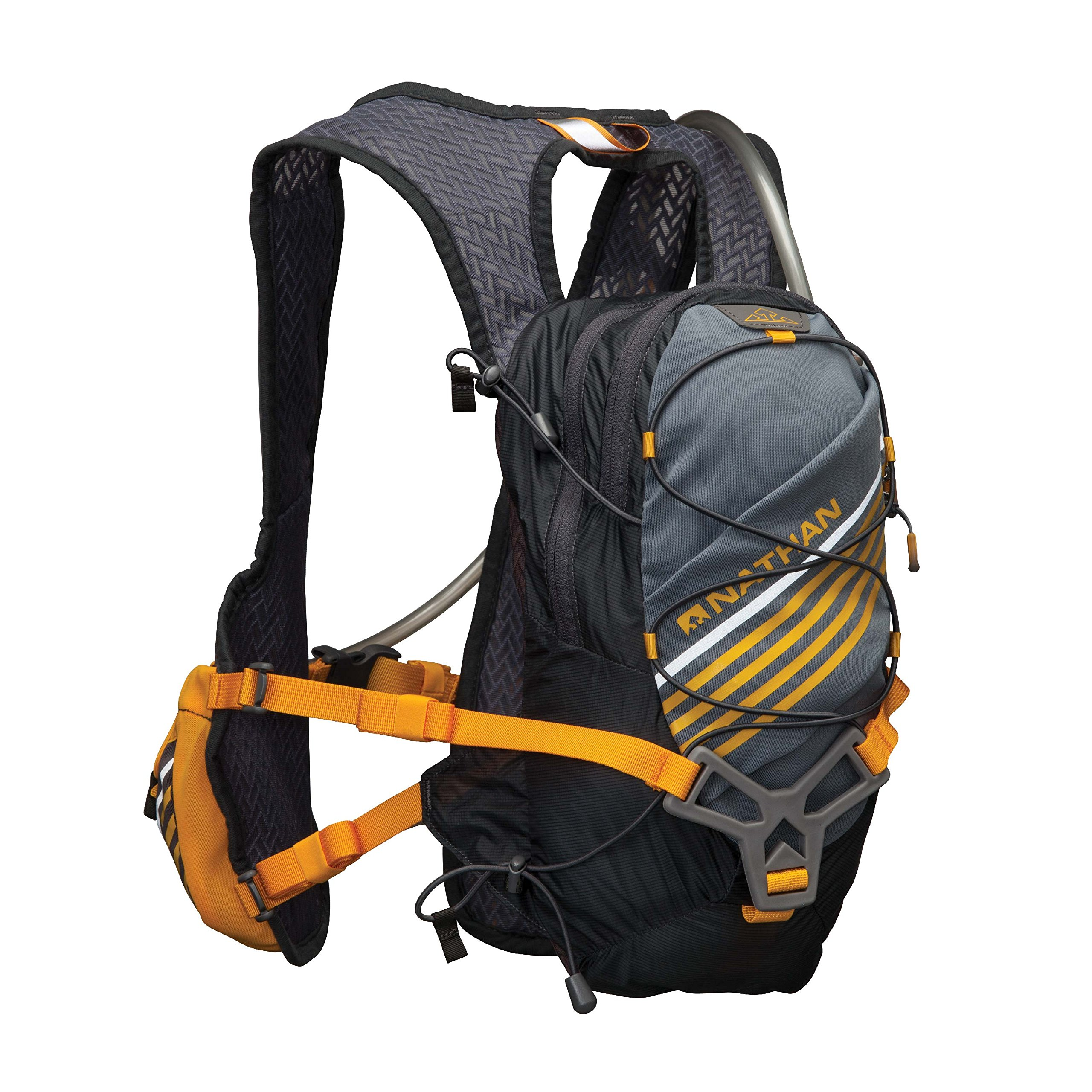 Nathan Zelos 2-Liter Hydration Vest, Nathan Grey, One Size by Nathan (Image #1)