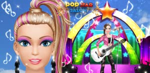Pop Star Salon: Spa, Makeup and Dress Up - Girls Fashion and Beauty Makeover Game! from Peachy Games LLC