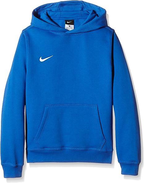 Nike Sportswear Blue Femmes Sweat à Capuche Bleu L: Amazon