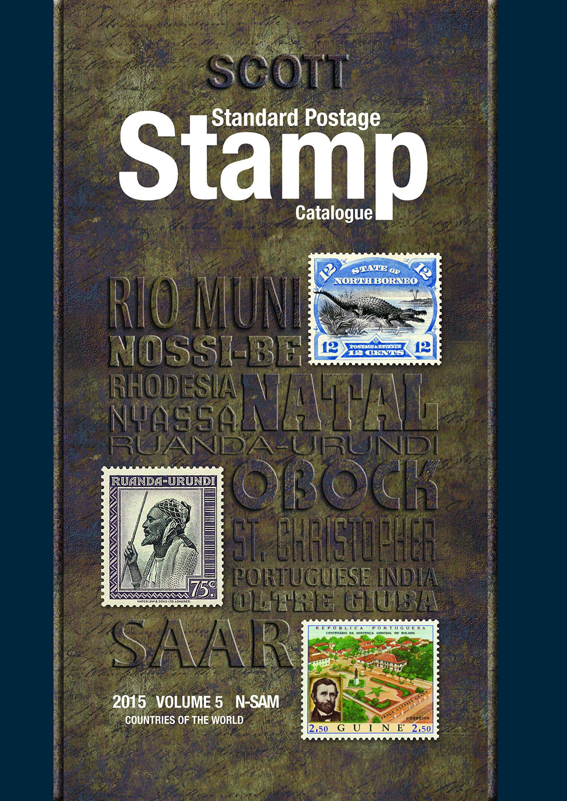 Scott 2015 Standard Postage Stamp Catalogue Volume 5: Countries of the World N-Sam (Scott Standard Postage Stamp Catalogue Vol 5 Countries N-Sam)
