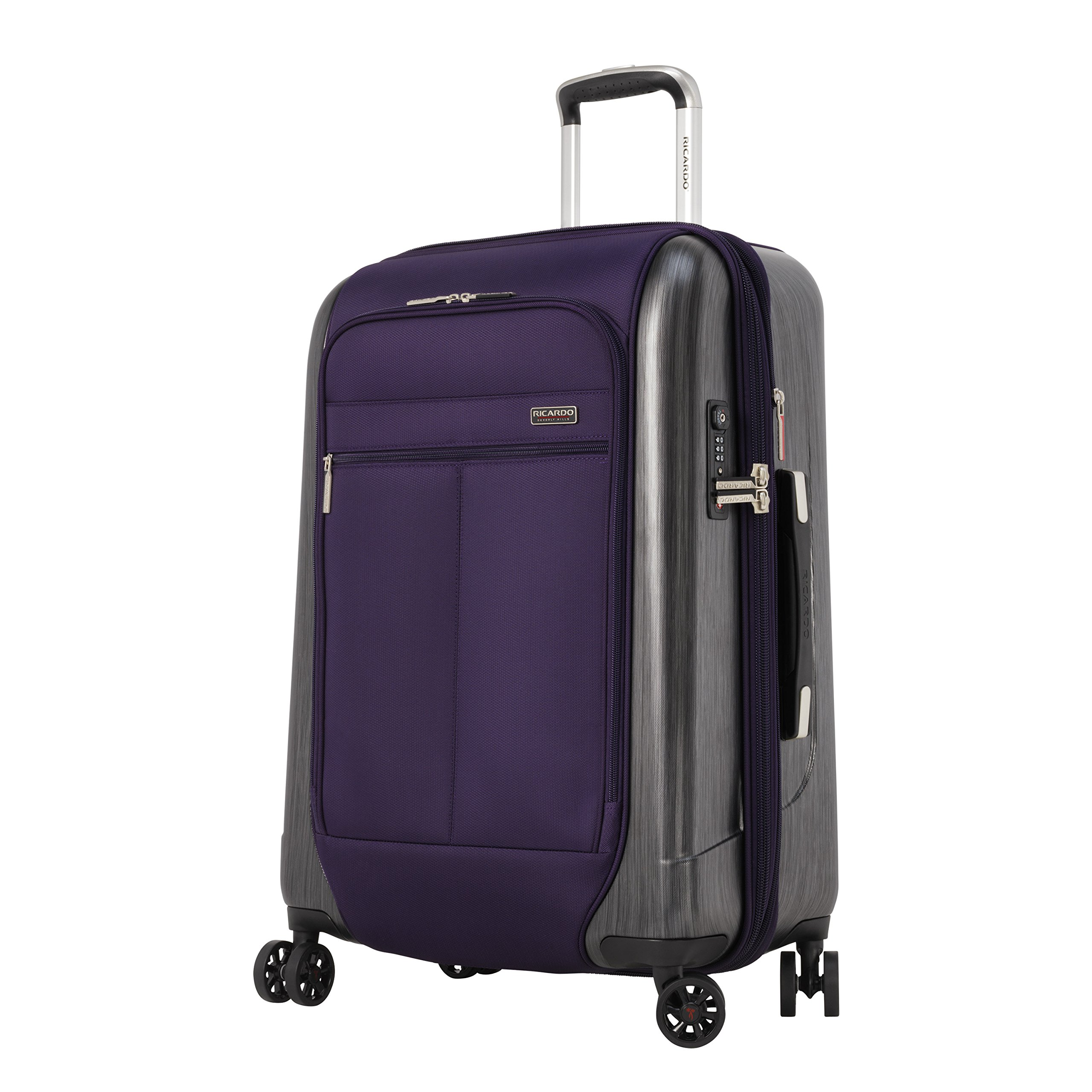 Ricardo Beverly Hills Mulholland Drive 24'' 4w Expandable Upright, Aubergine Purple