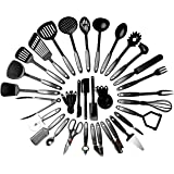 Royaleco Kitchen Cooking Utensil Set - 38 Nylon Cooking Utensils - Heat Resistant & Non-Scratch, Kitchen Tools Set With Spatula - Kitchen Gadgets Cookware Set – Best Cooking Utensils Gift Set