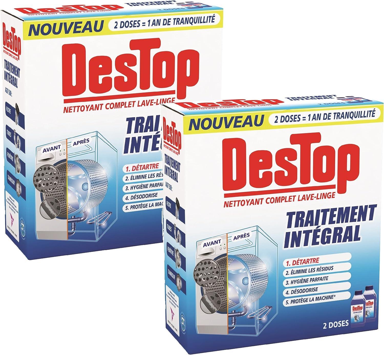Destop completa Limpiador 500ml lavadora - Juego de 2