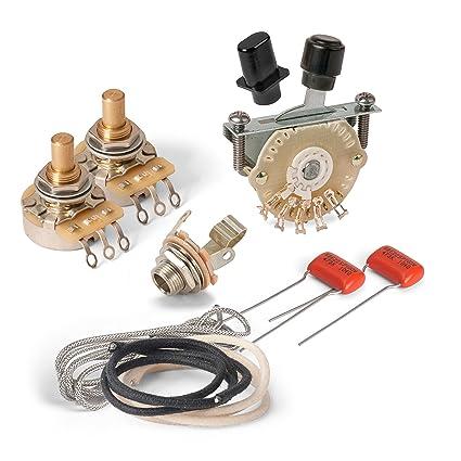 amazon com golden age premium wiring kit for telecaster with 4 way rh amazon com