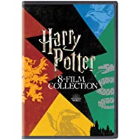 Harry Potter: The Complete 8-Film Collection (All Harry Potter 8 Parts - Year 1 to 7) (8-Disc Box Set)