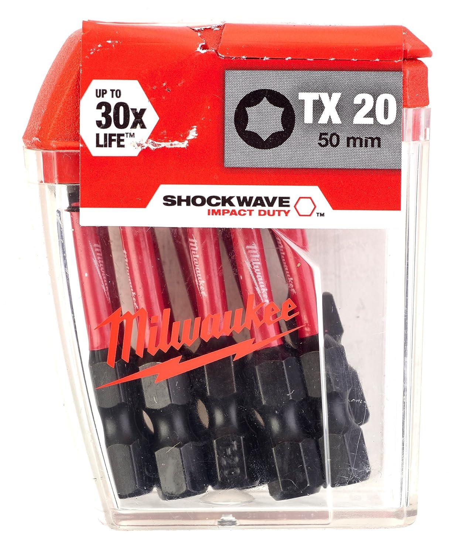Milwaukee 4002395385287 Embout de Vissage pour Visseuses à Chocs, Multicolore