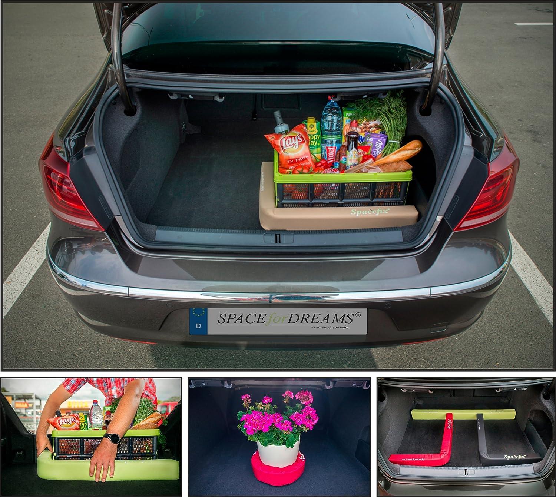 Equipaje Fijación SPACEFIX® (Rojo) - original, práctico, elemento de fijación para el espacio de equipaje de su automóvil. práctico elemento de fijación para el espacio de equipaje de su automóvil. Space 4 Sleep UG spx