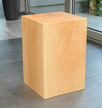 meilleur service f53de 35a98 Design tabouret sitzblock cube pouf cube en bois massif de ...