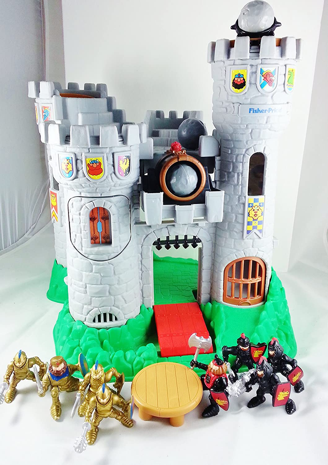 Amazon Com Fisher Price Great Adventures Castle Playset Movies Tv