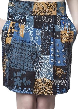 Mamatayoe Palette Falda Casual, Multicolor, XL para Mujer: Amazon ...