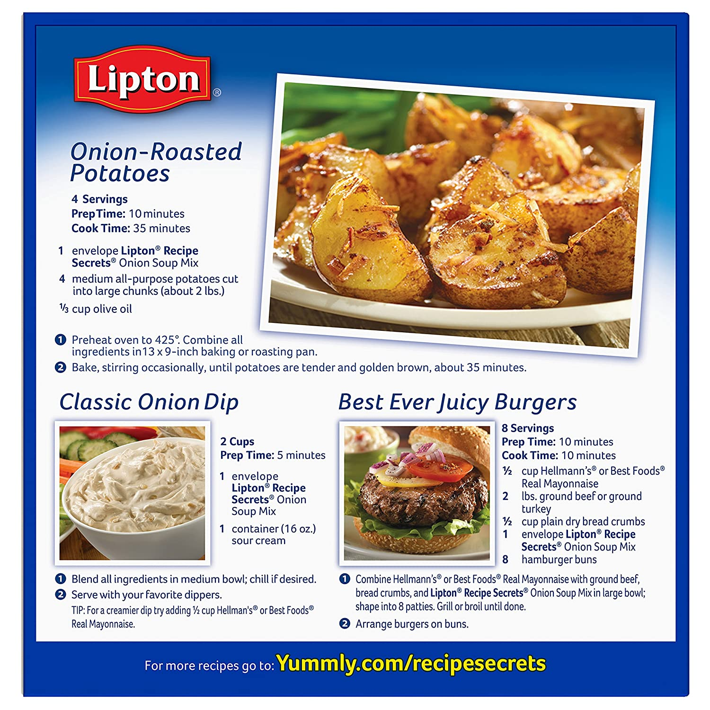 Amazon lipton recipe secrets soup and dip mix onion 2 oz amazon lipton recipe secrets soup and dip mix onion 2 oz pack of 6 forumfinder Images