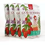 Zen Valley Big Goji Berries 1KG, 250gx4 packs, Free from Preservative&Sulfite