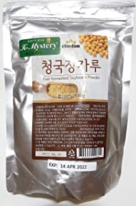 Chodam Chungkookjang, Natural Fast-Fermented Soy Bean Paste Powder 청국장 가루 청국장 분말 Vitamin B2 Healthy Food 500g (1.1lb) from South Korea