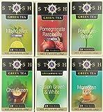 Stash Tea Green Tea Assortment, 6-Count