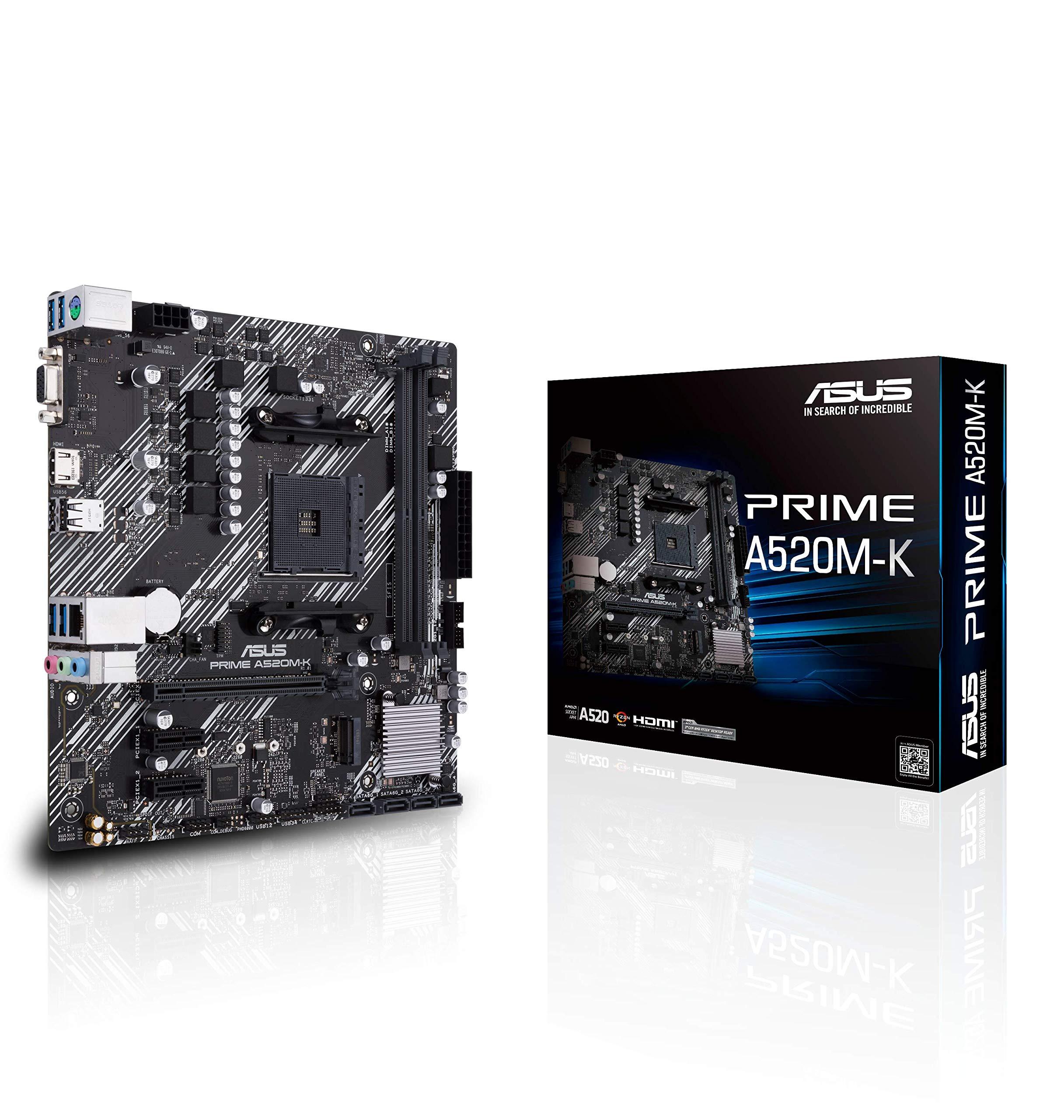 Motherboard ASUS Prime A520M-K AMD Socket AM4