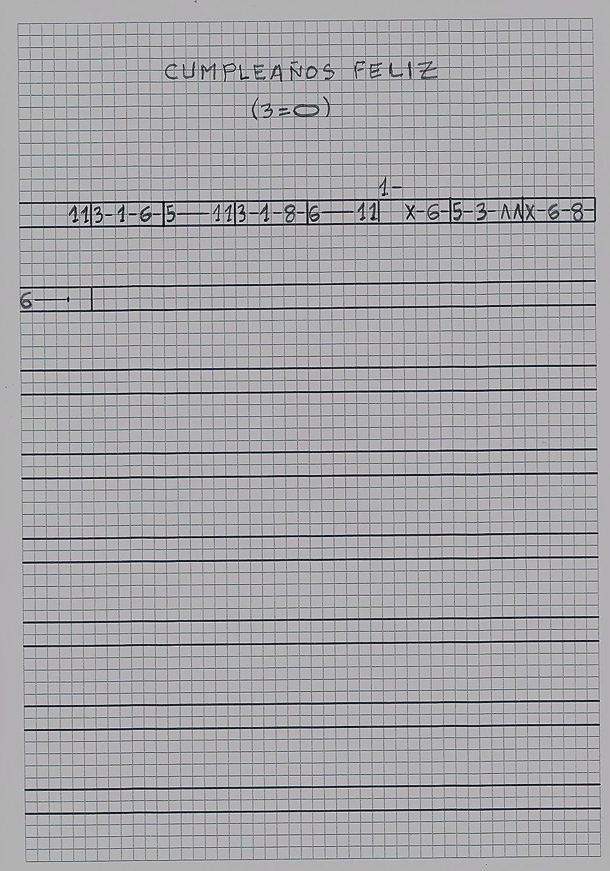 Pegatinas numeradas para las teclas blancas y negras del piano. Numeradas del 1 al 12, junto con el nombre de cada nota musical en inglés.