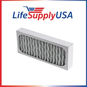 LifeSupplyUSA 4 Pack Replacement HEPA Filter Compatible with Hunter 30912 30917 30027 30028 30030 300705 36027 37027 Air Purifiers